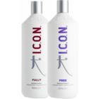 Champú Icon Fully 1000 ml  + Icon Free Conditioner  1000 ml