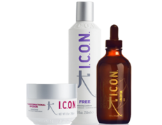ICON INDIA OIL, INFUSION Y FREE 250 ML.